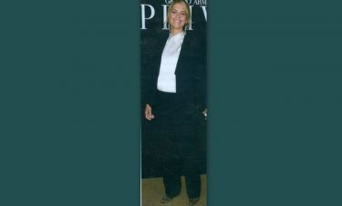 Η Τατιάνα Μπλάτνικ στην εβδομάδα μόδας του Παρισιού