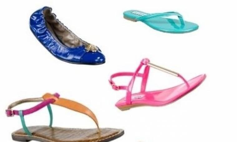 Τα ιδανικά flat shoes για κάθε καλοκαίρι!