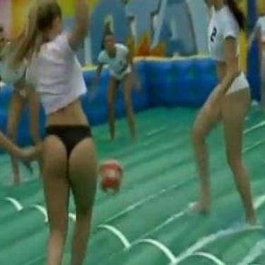 Όταν οι Βραζιλιάνες  παίζουν volley!