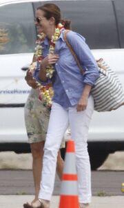 Χαβανέζικη υποδοχή για την Julia Roberts