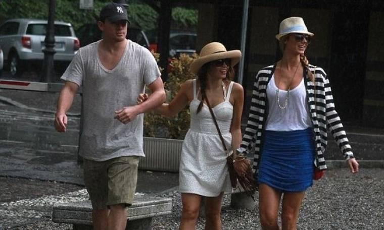 Stacy Keibler: Χωρίς τον George Clooney αλλά με τον Channing Tatum