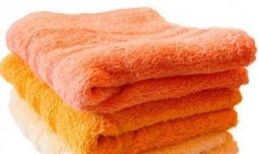 Το κόλπο για να κάνετε τις πετσέτες σας ξανά αφράτες