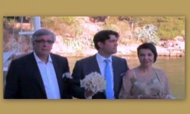Στιγμιότυπα από τον γάμο του γιου Κακέτση-Μπαλανίκα