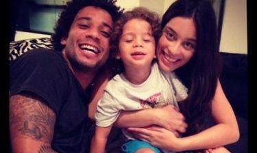 Μια ευτυχισμένη οικογένεια έχει ο Μαρσέλο