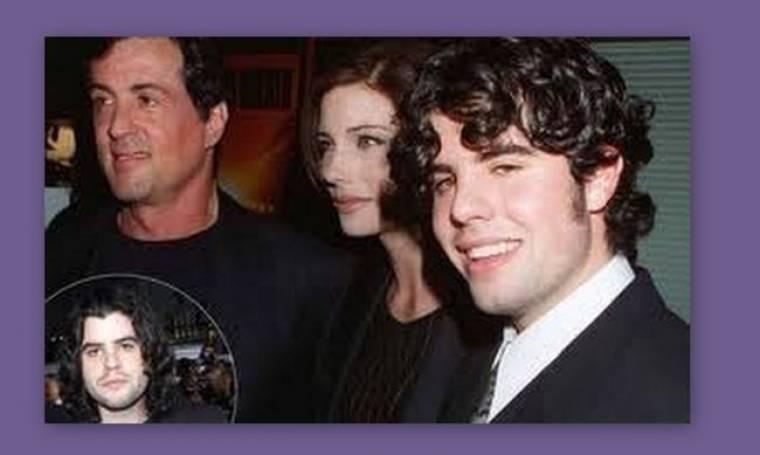 Συντετριμμένος ο Sylver Stallone από το θάνατο του γιου του!