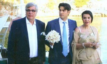 Φωτογραφίες από τον γάμο του γιου του Κακέτση και της Μπαλανίκα