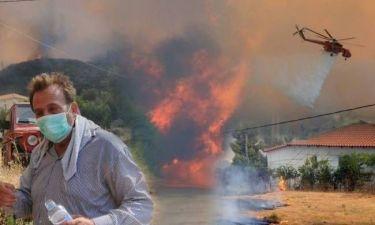 Εκτός ελέγχου οι πυρκαγιές σε Αχαΐα και Χανιά