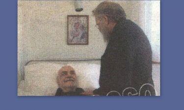 Ανδρέας Μπάρκουλης: Οι πρώτες ώρες του στο Γηροκομείο Αθηνών (φωτό)