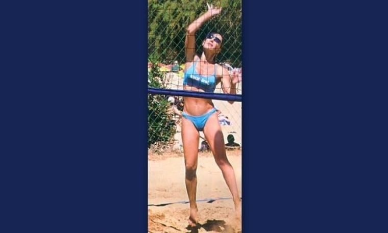Βίκυ Χατζηβασιλείου: «Κολλημένη» με το beach volley