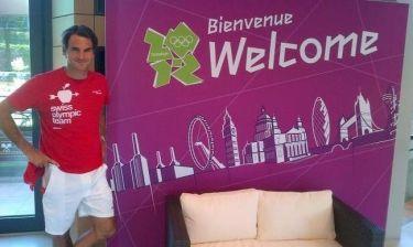 Έτοιμος για τους Ολυμπιακούς Αγώνες ο Ρότζερ Φέντερερ