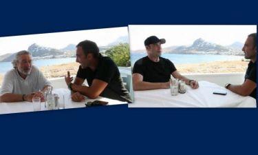 Νίκος Αλιάγας: Δείτε τη συνέντευξη που πήρε από Travolta, De Niro στη Σκύρο!