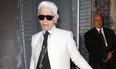 Karl Lagerfeld: Τι λέει για την οικογένεια Beckham;