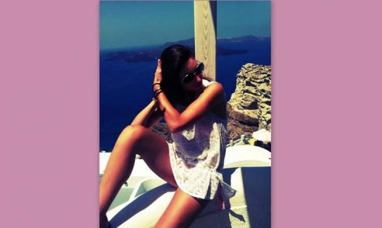 Αθηνά Οικονομάκου: Η σέξι φωτογραφία που ανέβασε στο twitter της!