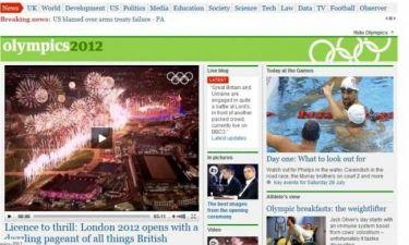 Ξετρελάθηκαν τα βρετανικά ΜΜΕ με την τελετή έναρξης