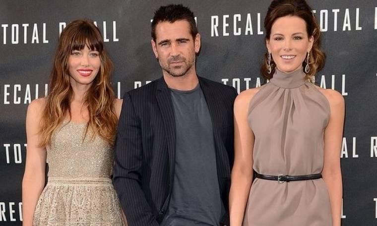 Ο Colin Farrell και οι κυρίες του!