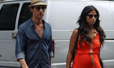 Matthew McConaughey: Αναχώρηση από τη Νέα Υόρκη με την οικογένεια του