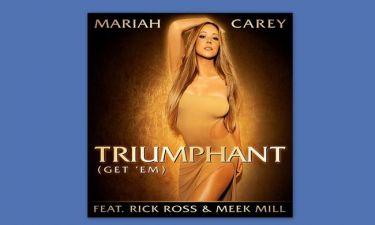Η Mariah Carey παρουσιάζει το εξώφυλλο του νέου της σινγκλ