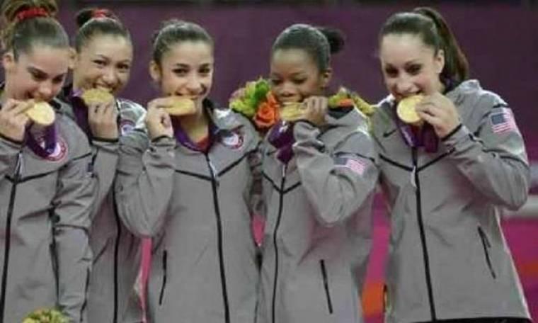 Λονδίνο 2012-Γυμναστική: «Χρυσές» μετά από 16 χρόνια οι ΗΠΑ!