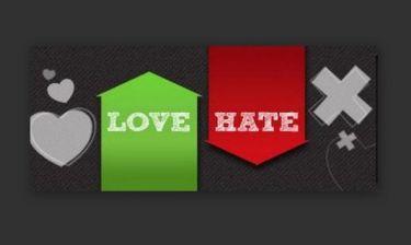 """Ξεκίνησε η ψηφοφορία στο  """"Love and Hate"""""""