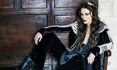 Keira Knightley: Μία gothic φωτογράφηση για το Harper's Bazaar