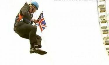 Λονδίνο 2012: Ο δήμαρχος κρεμάστηκε στον αέρα!