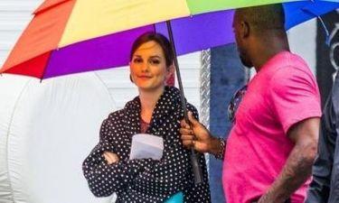 Leighton Meester: Έχει άνθρωπο να της κρατάει την ομπρέλα;
