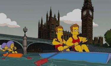 Ολυμπιακοί Αγώνες 2012: Χρυσό μετάλλιο στους Simpsons