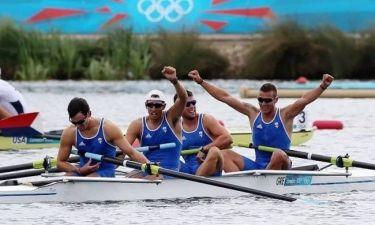 Ολυμπιακοί Αγώνες - Κωπηλασία: Τέταρτοι οι Έλληνες στην τετράκωπο!