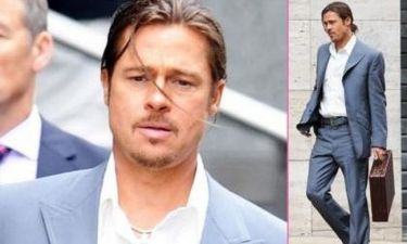 Brad Pitt: Τώρα και με κοτσίδα!