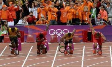 Ολυμπιακοί Αγώνες 2012: Πέταξαν μπουκάλι στον Μπολτ!