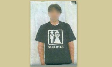Ποιος διάσημος φόρεσε αυτό το t-shirt μετά το γάμο του;