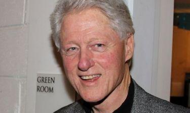 Η incognito επιστροφή του Μπιλ Κλίντον
