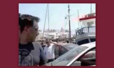Γρηγόρης Αρναούτογλου: Αποδοκιμάστηκε από κάτοικο της Νάξου