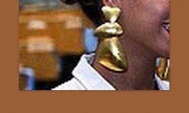Μήπως είναι λίγο μεγάλο το σκουλαρίκι που φοράς;