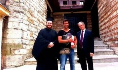 Ο Γιώργος Τσαλίκης στο Πατριαρχείο στην Κωνσταντινούπολη!