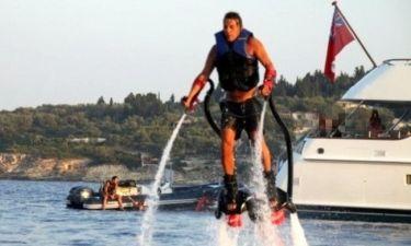 Αναγνωρίζετε ποιος τόλμησε να κάνει το πιο extreme water sport που υπάρχει;