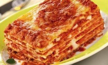 Lasagne all' Uovo με γαρίδες, τόνο και κάπαρη