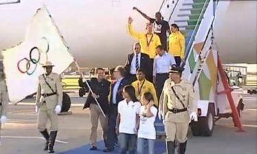Ολυμπιακοί Αγώνες 2012: Η υποδοχή των Ολυμπιακών Αποστολών (video)