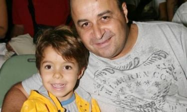Μάρκος Σεφερλής: «Ο γιος μου είναι το γούρι μου»