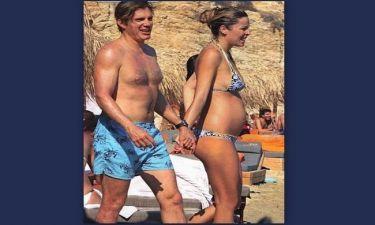 Μαριέττα Χρουσαλά: Πλούσια έγκυος στο Αιγαίο...