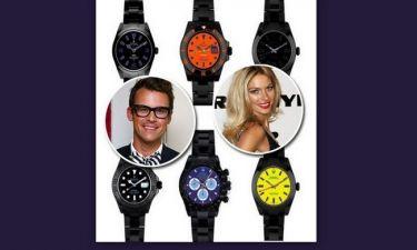 O Brad Goreski, η Jessica Hart και όχι μόνο, σχεδιάζουν Rolex!