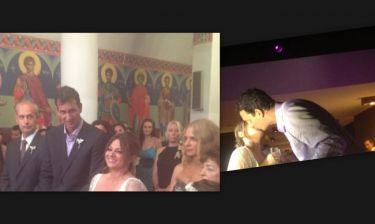 Νάσος Γαλακτερός-Νάνσυ Ζαμπέτογλου: Δείτε φωτογραφικό υλικό από το γάμο τους!