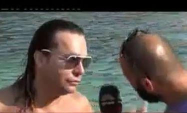 Τρύφωνας Σαμαράς: Έκανε διακοπές στα Σύβοτα κι έγινε λούης από την Κύπρο!