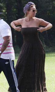 Η Mariah Carey στα πλατό της νέας της ταινίας