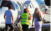 Ελένη Μενεγάκη-Ματέο Παντζόπουλος: Ταξίδεψαν από τη Χίο με lear jet! (φωτό)