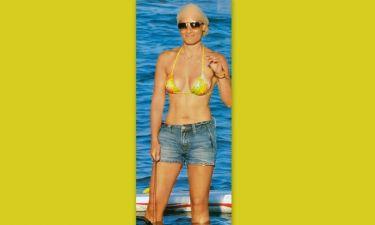 Η Ελεονώρα Μελέτη και το windsurfing!