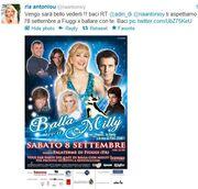 Η Ρια Αντωνίου επιστρέφει στην Ιταλία και ξαναχτυπά με θεατρική παράσταση