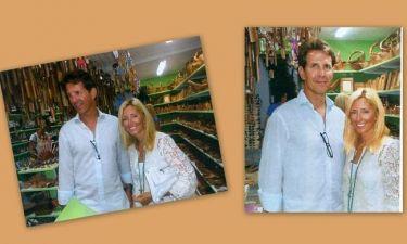 Παύλος-Μαρί Σαντάλ: Οικογενειακή επίσκεψη στην Κεφαλονιά