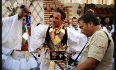 Με παραδοσιακή στολή ο Νίκος Αλιάγας!