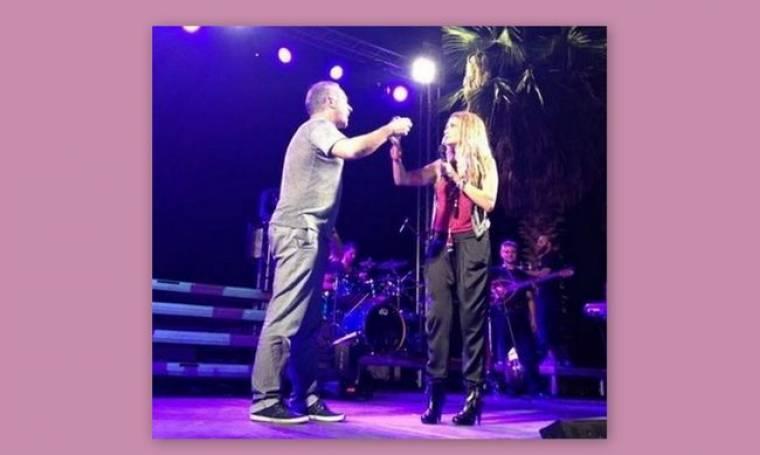 Βίσση-Σεργουλόπουλος: Ήπιαν τσικουδιά on stage!